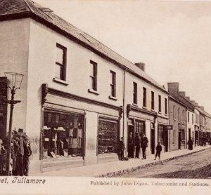 Church St. Tullamore - Gaslamp