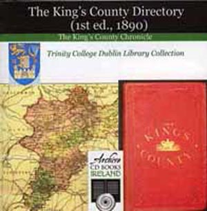 Kings County Directory Of 1890 On CD