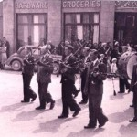Pipe Band, Kilcormac -  1953 1