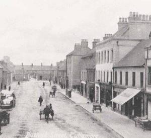 Barrack Street, 1916 demolished 1922 1
