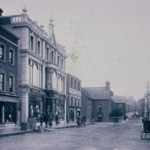 William St, Tullamore (street life) 1914 1