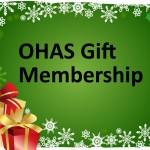 OHAS Christmas Gift Membership Logo