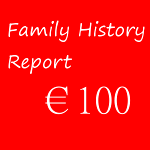 Family History Report –  €100