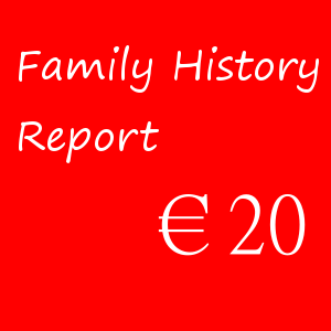 Family History Report – €20