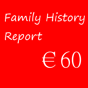 Family History Report – €60