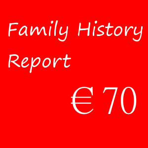 Family History Report – €70