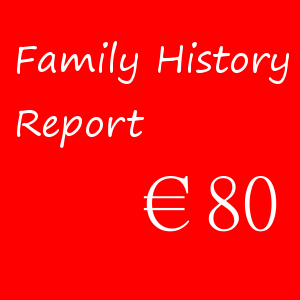 Family History Report – €80