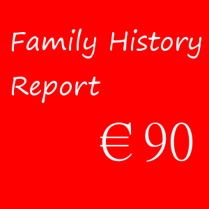 Family History Report – €90