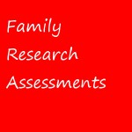 Family Research Assessment