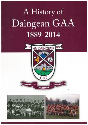 A History Of Daingean GAA 1889 – 2014