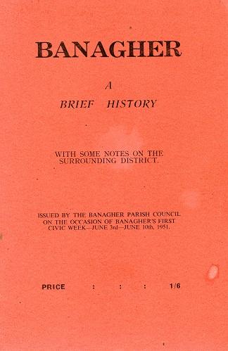 Banagher A Brief History – Banagher Parish Council.