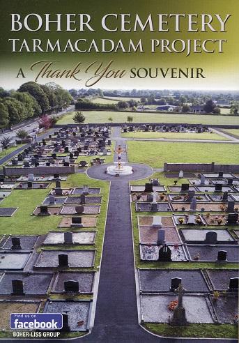 Boher Cemetery. Tarmacadam Project – A Thank You Souvenir