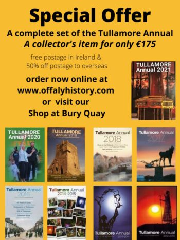 Tullamore Annual: The Complete Set.